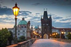 Charles Bridge, Prague Stock Photo