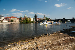 Charles Bridge, Prague Royalty Free Stock Photo
