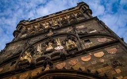 Charles bridge tower, Prague, Czech Republic Royalty Free Stock Photo