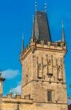 Charles Bridge tower, Prague, Czech Republic. stock photography
