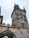Charles Bridge Tower Stock Image