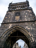 Charles Bridge Tower Stock Photography
