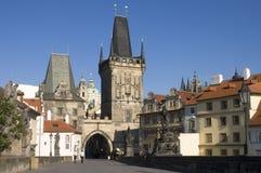 Charles Bridge, Tsjechisch Praag, royalty-vrije stock fotografie