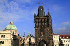 Charles Bridgel, Prague Stock Photography