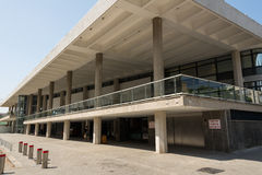 Charles Bronfman Auditorium in Tel Aviv stock fotografie