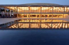 Charles Bronfman Auditorium in Tel Aviv, Israël stock fotografie