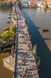 Charles-brug, Praag royalty-vrije stock foto's
