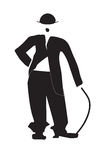 Charles Chaplin Immagini Stock