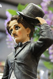 Charles Chaplin figure. Decorative figure of Charles Chaplin Stock Image
