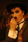 Charles Chaplin Wax Figure Royalty Free Stock Image