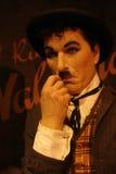 Charles Chaplin Wax Figure Royalty Free Stock Image