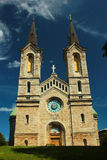 Charles Church Kaarli kirik, en Lutherankyrka av det 19th århundradet i Tallinn, Estland Royaltyfria Foton