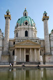 Charles church of Vienna Stock Image
