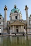 Charles church of Vienna Stock Photo