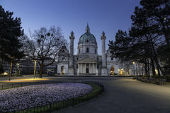 The Charles church of Vienna Royalty Free Stock Photo