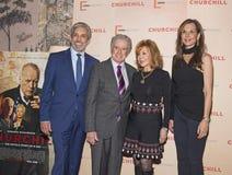 Charles Cohen, Regis Philbin, radość Philbin i Clo Cohen, obraz royalty free