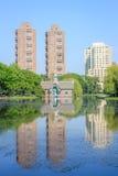 Charles A. Dana Discovery Center - Central park, New York city Stock Photo