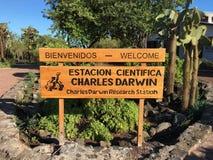 Charles Darwin Badawcza stacja Zdjęcie Stock
