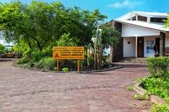 Charles Darwin Research Station auf Santa Cruz Island in Galapago Stockfotos