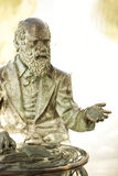 Charles Darwin statue Royalty Free Stock Photography