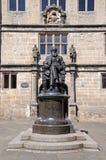 Charles Darwin Statue, Shrewsbury. Stock Photo