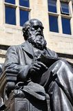 Charles Darwin Statue, Shrewsbury. Royalty Free Stock Photography