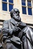 Charles Darwin Statue, Shrewsbury. Royalty Free Stock Photography