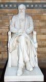 Charles Darwin staty Arkivbilder