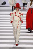 Charles De Castelbajac mody Paryski tydzień Zdjęcia Stock