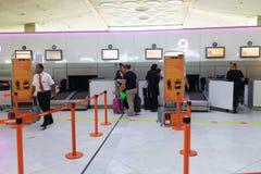 Charles de Gaulle Airport interior Stock Photos