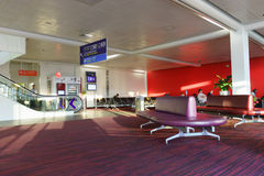 Charles de Gaulle Airport interior Stock Images