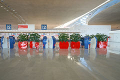 Charles de Gaulle Airport Royalty Free Stock Photo