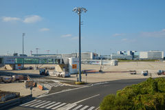 Charles de Gaulle Airport Royalty Free Stock Photos