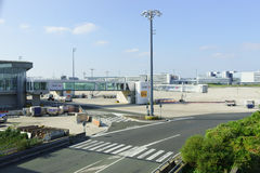Charles de Gaulle Airport Stock Images