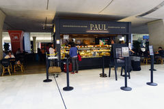 Charles De Gaulle lotniska wnętrze Obrazy Stock