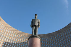 Charles de Gaulle monument, Moscow Stock Image