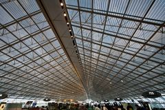 Charles- de Gaulleinternationaler Flughafen Lizenzfreies Stockbild