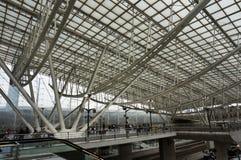 Charles Degaulle Airport Architecture Foto de archivo libre de regalías