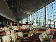 Charles Degaulle Airport in the Morning Royalty Free Stock Photography