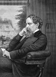 Charles Dickens Images libres de droits