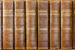 Charles Dickens böcker Arkivbild