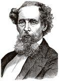 Charles Dickens B ilustración del vector