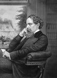 Charles Dickens vector illustration
