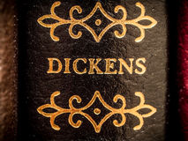 Charles Dickens. Famous author of novels including Oliver Twist and A Christmas Carol Stock Images