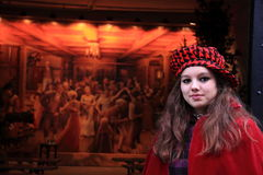Charles Dickens festival artist Deventer royalty free stock photo