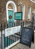 Charles Dickens Museum, Londres Photographie stock