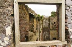 Charles Fort dichtbij Kinsale stock fotografie