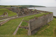 Charles Fort, Ierland stock foto