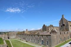 Charles fort ruins Kinsale Ireland Royalty Free Stock Image