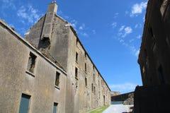 Charles fort ruins Kinsale Ireland Royalty Free Stock Photo